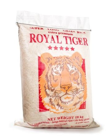 [ 18kg ] ROYAL TIGER Langkornreis Super Long Grain Rice extra premium KV