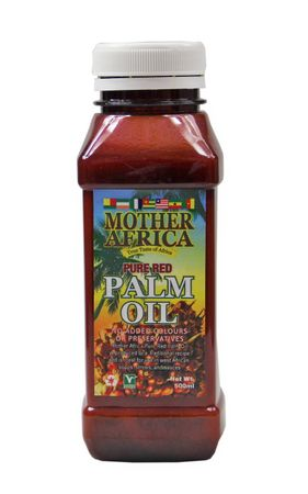 [ 500ml ] MOTHER AFRICA Rotes Palmöl Palm Öl / Pure Red Palm Oil