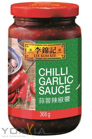 [ 368g ] LEE KUM KEE Chili Knoblauch Sauce / Chilli Garlic Sauce