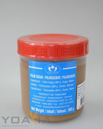 [ 2x 500g ] LOTUS Brand Palmzucker / Palm Sugar / Thailand