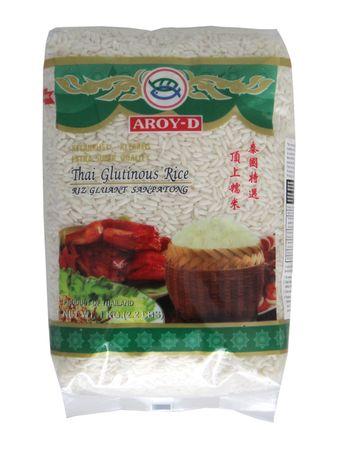 [ 1kg ] AROY-D Klebreis / Klebereis / Thai Glutinous Rice / Extra Super Quality