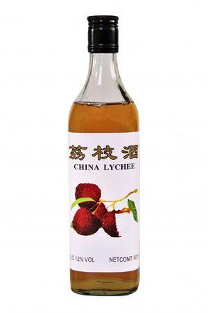 [ 600ml ] CHINA LYCHEE alkoholhaltiges Litschi Getränk Lycheewein 12% Vol.