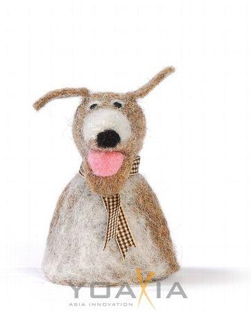 Eierwärmer Tiermotiv [ Hund ] für den fröhlichen Frühstückstisch 11cm