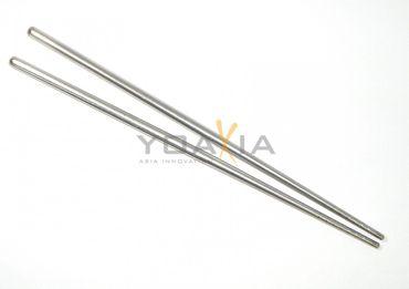 [ 36 cm ] Metall Wok - Rührstäbchen / Essstäbchen / asiatisches Kochutensil