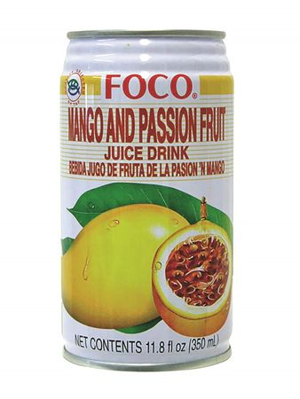 [ 350ml ] FOCO Mango- Passionsfrucht Nektar / Mango and Passionfruit Drink