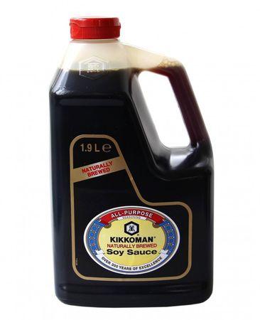 [ 1.9 Liter ] Sojasauce KIKKOMAN Soja Sauce / Naturally brewed Soy Sauce