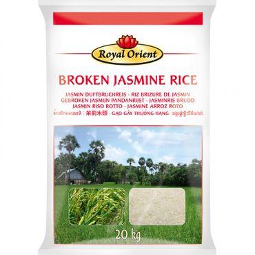 [ 20kg ] ROYAL ORIENT Jasmin Duftbruchreis /  Broken Jasmin Rice