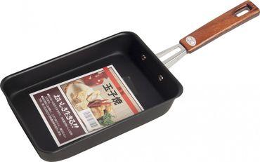 Sushi-Omelett- Pfanne 13x 19cm aus JAPAN / Tamago Eier - Pfanne [ schwarz ]
