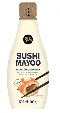[ 520ml / 500g ] ALLGROO Sushi Mayoo / Cremige Sauce für Sushi