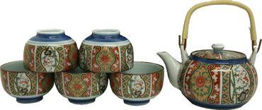 [ MADE IN JAPAN ] 6 teiliges Tee-Service / Teeservice / Geschenkverpackung #949