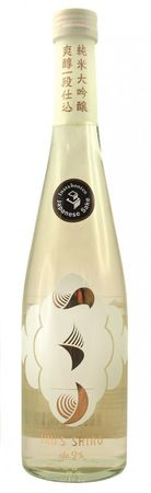 [ 500ml ] INATA HONTEN Sake  Iku's Shiro alc 9% vol / Japanisches alkoholhaltiges Getränk aus Reis (Junmai-Daiginjo)