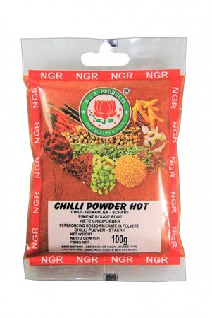 [ 100g ] NGR Chili Pulver SCHARF / HOT Chilipulver