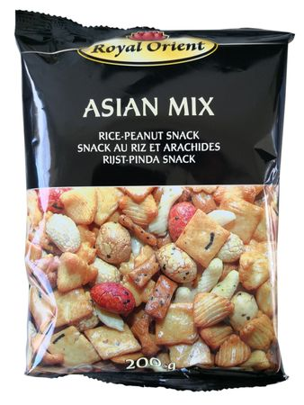 [ 200g ] Royal Orient ASIAN MIX Reis- Erdnuss- Snack / Cracker