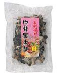 [ 100g ] getrocknete Schwarze Pilze [ schwarz/weiß ] Mu-Err / Morcheln / Black Fungus  001