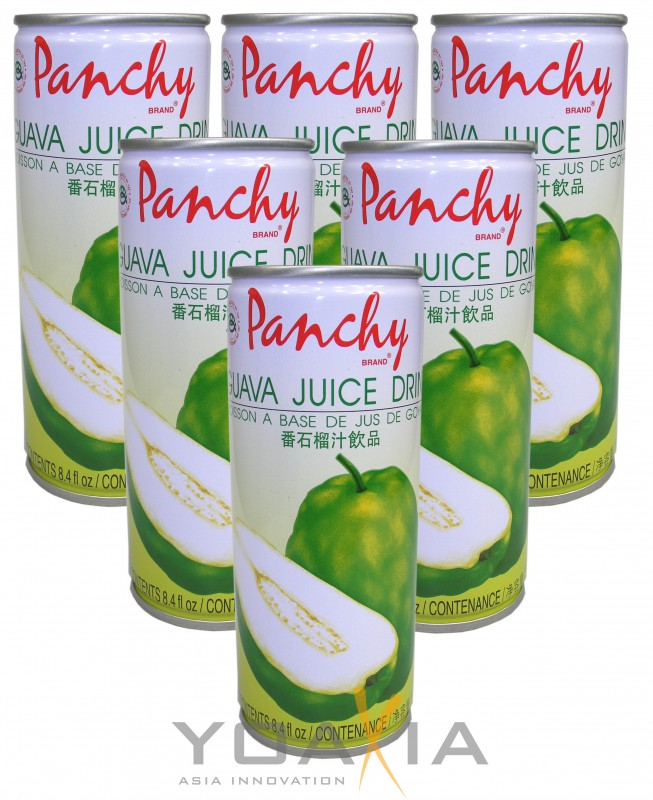 MHD 21.12.2018 - [ 6x 250ml ] PANCHY Guava Getränk / Guava Juice Drink