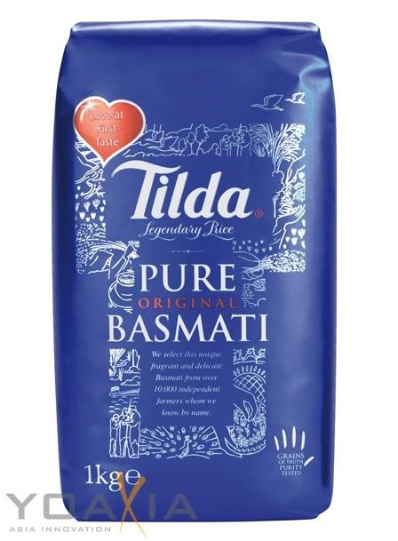 MHD 01.01.2019 - [ 1kg ] TILDA Pure Basmati / Basmati Reis / Basmatireis