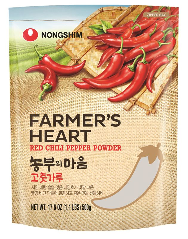 [ 500g ] NONG SHIM Rotes Chilipulver / Mittelscharf/ Red Chili Pepper Powder Medium Hot