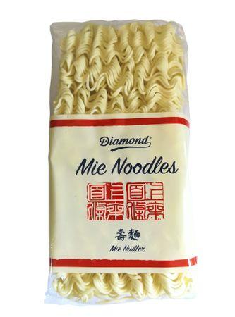 [ 250g ] DIAMOND Mie Noodles, dünn / Mie Nudeln ohne Ei / Wok Nudeln