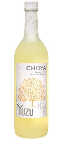 [ 700 ml ] CHOYA Yuzu 15% vol. / Likör aus der Yuzu / Japanese Citrus Fruit Liqueur