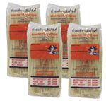 [ 4x 400g ] FARMER Reisnudeln, 3mm Banh Pho / Bandnudeln / Rice Noodle  001
