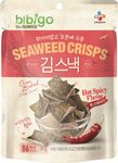 [ 20g ] BIBIGO Seealgen-Reis-Crisps HOT & SPICY / Reiscracker mit Seealgen, geröstet  001