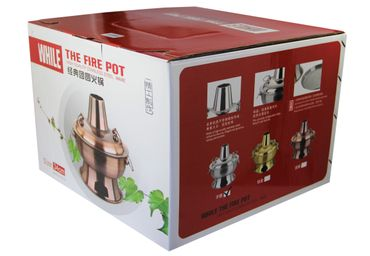 [ Ø 34cm / 2.8 Liter ] HOT POT Topf / THE FIRE POT / Feuertopf / Fondue / Shabu Shabu – Bild 2