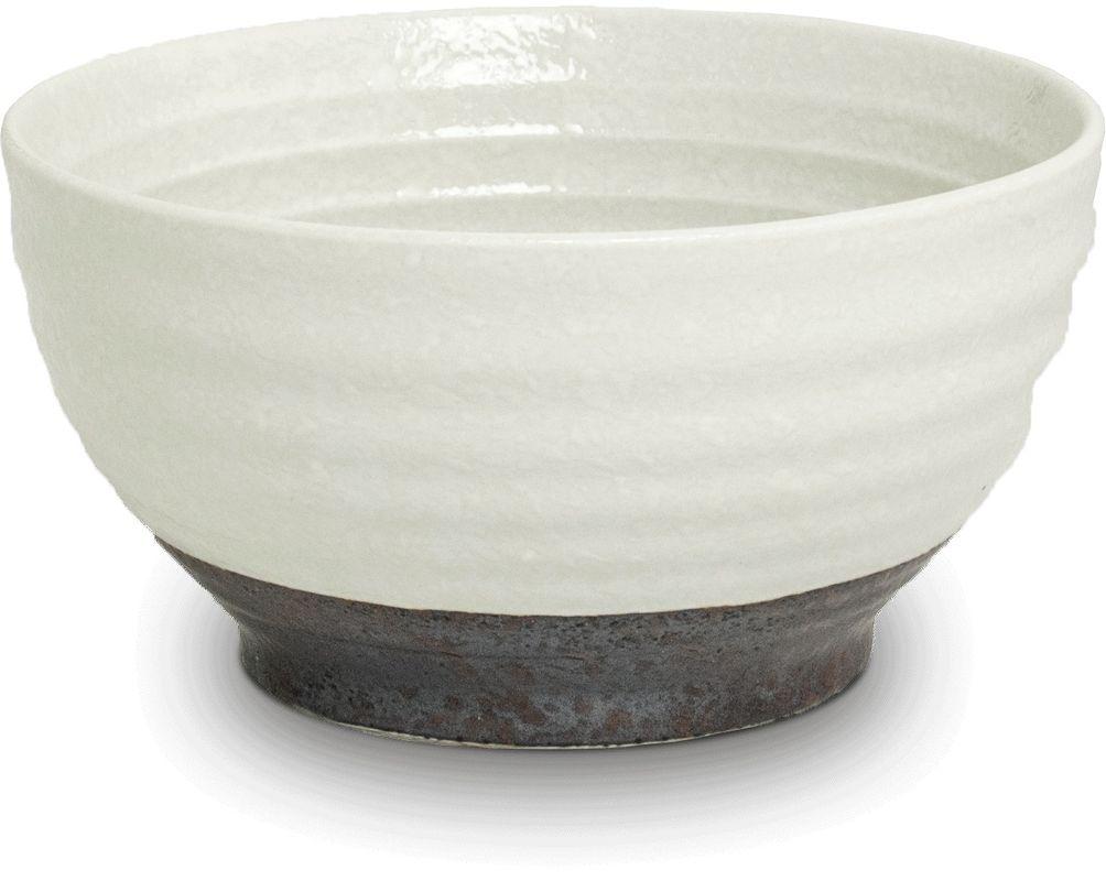 OGAWA [ BACH ] Keramik - Schüssel  Ø 15 cm / Höhe 8 cm [ Reisschale ] Schale