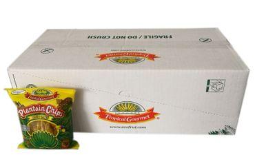 [ 20x 85g ] TROPICAL GOURMET Bananen Chips [ leicht gesalzen ] aus Ecuador – Bild 1