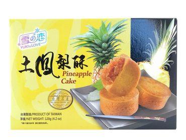[ 120g ] YUKI & LOVE Ananaskuchen  / Pineapple cake