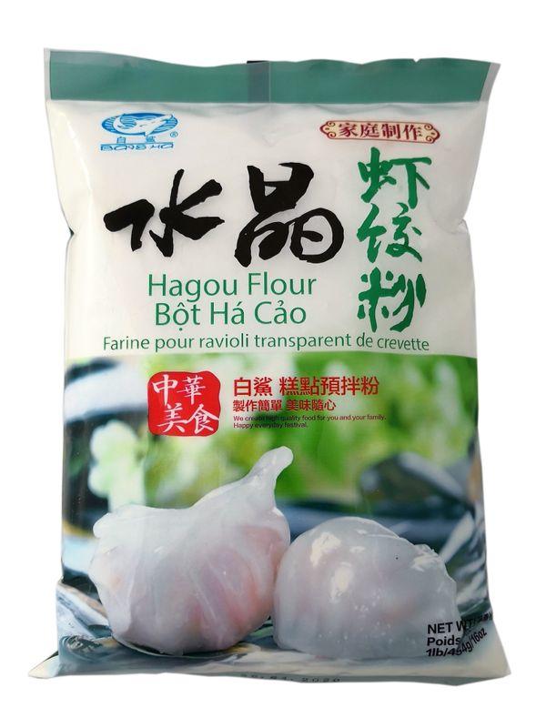 [ 454g ] BaiSHa Hagou Flour / Hangou Mehl für Dumplinge
