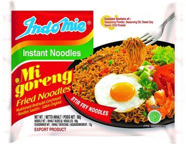 [ 2x 80g ] IndoMie Instant Noodles MI GORENG Gebratene Nudeln - fried noodles