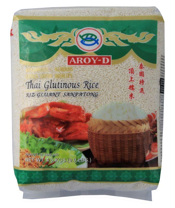 [ 4,5kg ] AROY-D Klebreis / Klebereis / Thai Glutinous Rice / Extra Super Quality