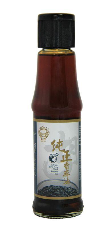 [ 150ml ] YI YUAN Sesamöl aus gerösteter schwarzer Sesamsaat / Sesame Oil from roasted black seeds