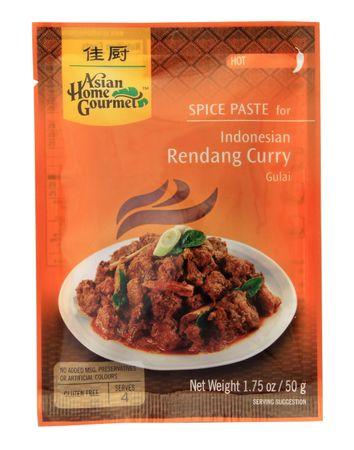[ 50g ] ASIAN HOME GOURMET Würzpaste für Indonesisches Rendang-Currygericht Gulai