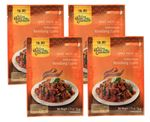 [ 4x 50g ] ASIAN HOME GOURMET Würzpaste für Indonesisches Rendang-Currygericht Gulai 001