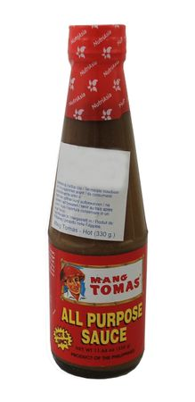 [ 330g ] MANG TOMAS All Purpose Sauce / Allzwecksauce, HOT & SPICY