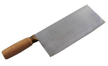 [ 31cm ] #3 Hackmesser mit Holzgriff STAINLESS STEEL Messer für Fleisch und Gemüse – Bild 2