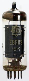 Radio Tube EBF89 RSD #1014