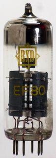 Radioröhre EF80 RSD ID1019