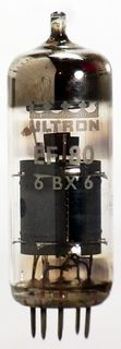 Radio Tube EF80 Ultron #1021