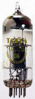 Vacuum Tube - Radio Valve (TV) PABC80 Tesla #1052