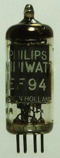Radio Tube EF94 Philips Miniwatt #11012
