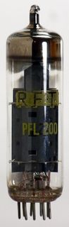 Vacuum Tube - Radio Valve (TV) PFL200 RFT #1131