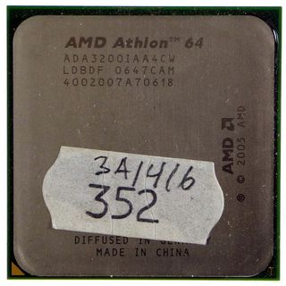 AMD Athlon 64 3200+ - ADA3200IAA4CW (ADA3200CWBOX) 2Ghz ID11404