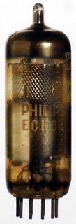 Radio Tube ECH84 Philips #1190