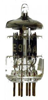 Radioröhre E91AA goldpin Siemens ID1220