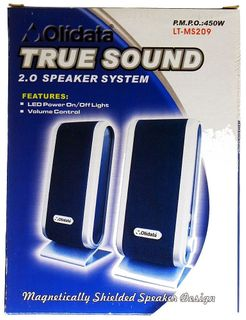 Olidata Aktive True-Sound 2.0-Lautsprecher LT-MS209 ID12205