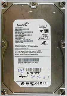750GB HDD Seagate Barracuda ES ST3750640NS SATA ID12221