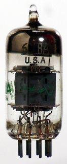 Radioröhre 6CLA8 Sylvania USA ID1249