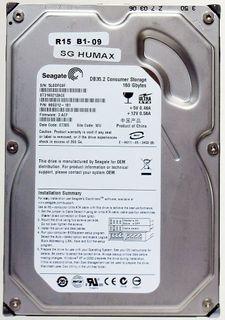 160GB HDD Seagate DB35.2 ST3160212ACE IDE ID12581